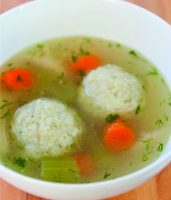 Homemade Chicken Balls & Vegetable Soup copy