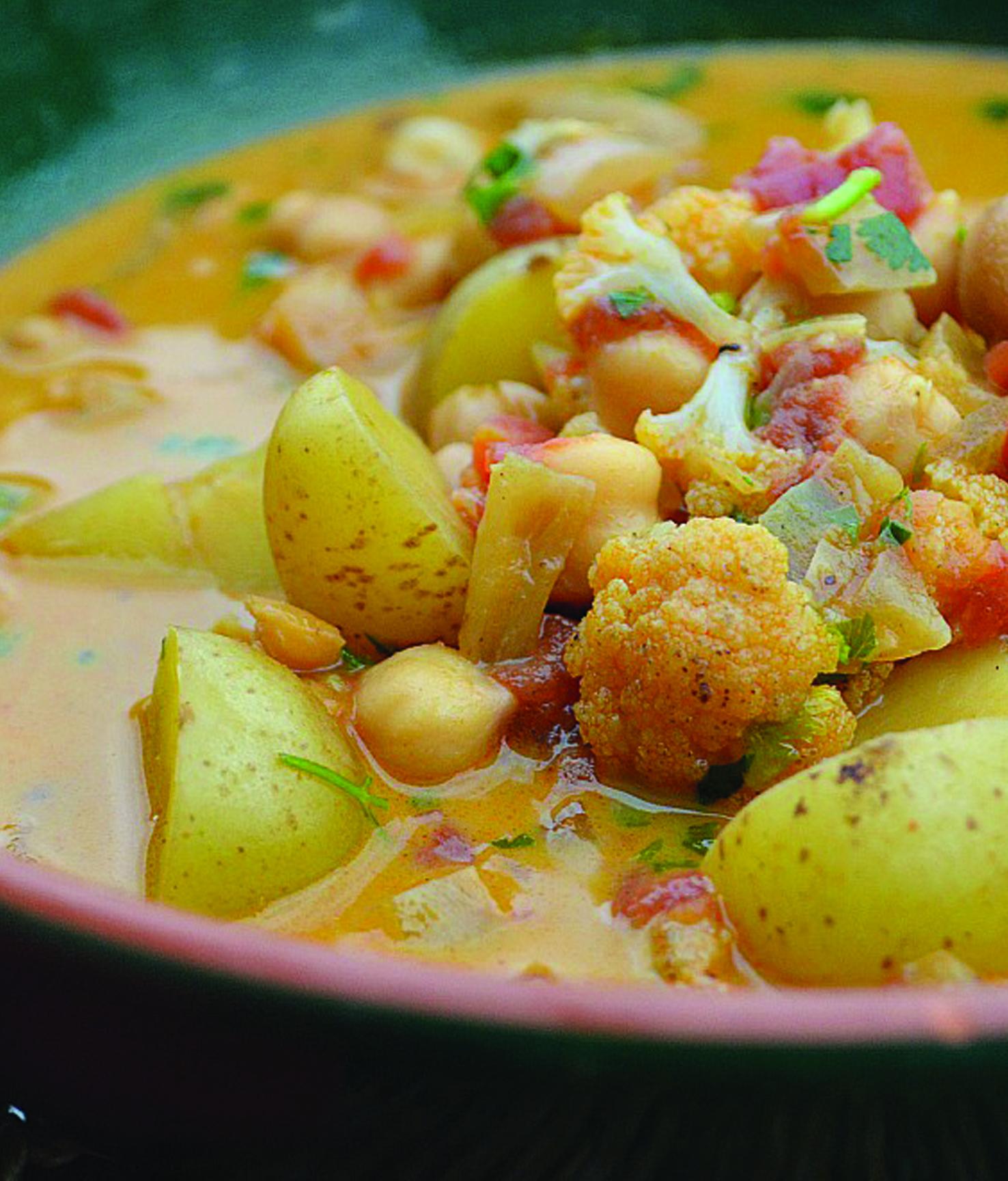 Curried Onion And Cauliflower Hummus Recipe: Curry Cauliflower Soup