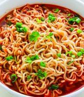 Spicy Vegetarian Ramen copy